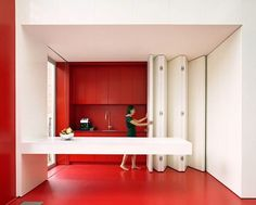 Making More Space by Hiding Kitchens
