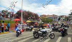 Motorizada en fiestas de la Independencia en Panamá