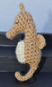 Hatori the Seahorse Amigurumi ( Fruits Basket Zodiac Animals) Free Pattern (Scroll Down)