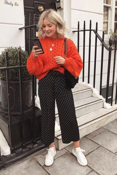 somerlynnn - Laura Wolters- # Laura im Jahr 2020 Winter Outfits For Work, Casual Winter Outfits, Winter Fashion Outfits, Trendy Outfits, Fall Outfits, Winter Dresses, Summer Outfits, Knit Sweater Outfit, Pullover Outfit