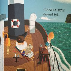 The Book Sniffer: Grandad's Island by Benji Davies