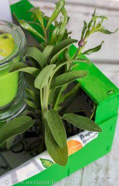 Obstkiste in Geschenkebox verwandeln - fruit case becomes a gift box