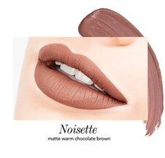 Long-Wear Lip Crème Liquid Lipstick in Noisette | Jouer Cosmetics