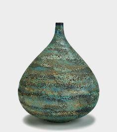 Gertrud & Otto Natzler  - Monumental vase - 1957