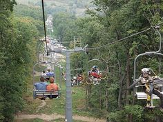 """Flying chairs above Budapest – the """"Libegő"""" (Flutter) The Chair Lift (""""Libegő"""" literally """"flutter"""") is the one of the most interesting sights of the hills of Buda. The two-way chairlift system. Budapest, Bugs, Places To Go, Travel, Viajes, Trips, Beetle, Tourism, Insects"""