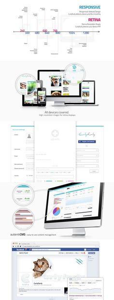 Curlyfurly RWD design by Authentic Studio #rwd #responsive #design #webdesign #website #development #cms #authenticstudio