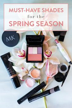 We've got plenty of beautiful spring makeup looks in peach, purple, coral and more. What's your favorite eye shadow color for the season? | Mary Kay
