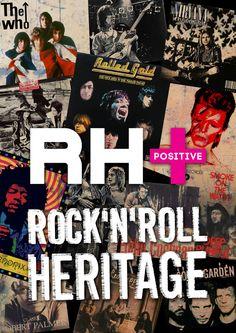 Locandina RH positive rock band