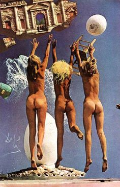 Did you know that Salvador Dali did some art direction for a Playboy shoot? We didn't either, but as Playboy has released their archives on their new i.Playboy platform, they have also calle… Sandro Giordano, L'art Salvador Dali, Dali Quotes, Photocollage, Shooting Photo, Annie Leibovitz, Magritte, Surreal Art, Rare Photos