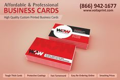 Business card is an easy and professional way to get in touch with someone. If you visit a place and have shortage of time, you can leave your Business card for your complete contact information and client can contact you any time. Voila Print offers best and economical Business card Design and Printing Services.