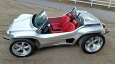 Be the first one on your block to have a dune buggy-turned-roadster! The Kick-Out SS can go anywhere a dune buggy can, and does it in style. Our Kick-Out SS Kit Car Volkswagen, Vw Cars, Pedal Cars, Volkswagen Models, Vw Beach, Beach Buggy, Beach Cars, Custom Vw Bug, Custom Cars
