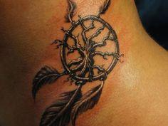 The Essence of Adventure Dreamcatcher Tattoo