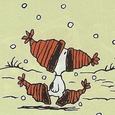 Snoopy is so creative!