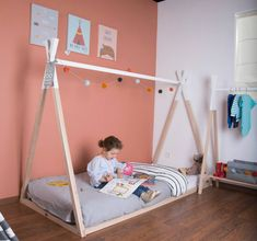 Are you interested in our Teepee Bed? With our Wooden Teepee Toddler Bed you need look no further.