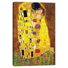 The Kiss by Klimt Canvas Print