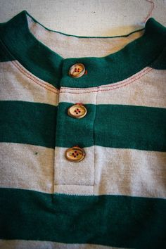 Project Run and Play: Winner's Tutorial: A Henley Collar