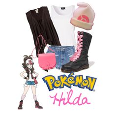 Pokèmon Trainer - White (or Hilda, even though I've never heard of her being called that...). Btw, hat's wrong. still cute overall, though.