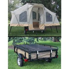 New 6 Person Camping Tent Trailer Lifetime Camper Lifetime Heavy Duty