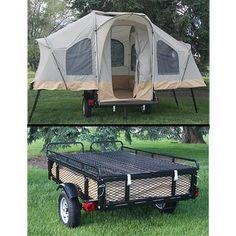 Lifetime Camping Tent Trailer, Go To www.likegossip.com to get more Gossip News!