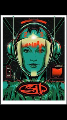 311 Cleveland show poster 2015