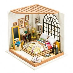 Hot Diy Glass Ball 3d Miniature Assemble Model Creative Diary Building Dollhouse Kits With Fantasy Funitures Festival Gifts Low Price Architecture/diy House/mininatures