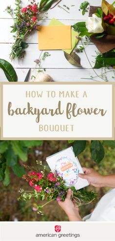 After checking out this guide for How to Make a Backyard Flower Bouquet, we're convinced that there's no better way to enjoy the summer than by delivering a bunch of beautiful blooms with a greeting card from Target to a close friend. If you want to inspire your kids to give simple yet thoughtful gifts, this outdoor activity and present idea is sure to do the trick.