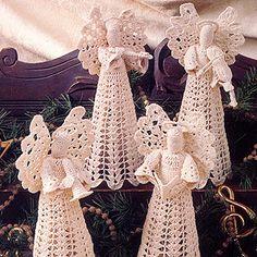 Leisure Arts - Angels in Harmony Thread Crochet Patterns ePattern, $2.99 (http://www.leisurearts.com/products/angels-in-harmony-thread-crochet-patterns-epattern.html)