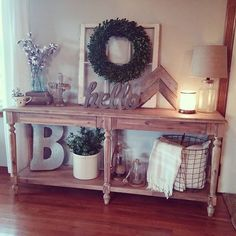 find this pin and more on fall decor - Sofa Table Decor
