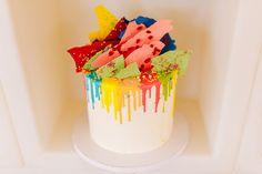 Εντυπωσιακές ιδέες βάπτισης κοριτσιού με ζωηρά χρώματα - EverAfter Vivid Colors, Colours, Stunning Girls, Cakes, Cake Makers, Kuchen, Cake, Pastries, Cookies