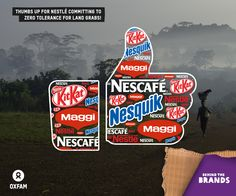 Thumbs up Nestlé! After Coca-Cola and PepsiCo, now Nestlé commits to zero tolerance for land grabs! Another win for our Behind The Brands campaign thanks to YOUR support!  SHARE this post to show your friends why you support Oxfam.