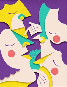 Literature is nothing other than a directed dream by Monica Andino, via Behance
