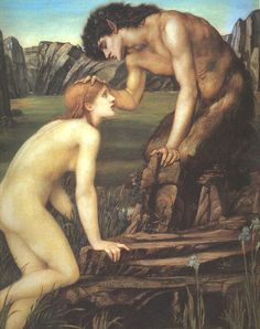 Edward Burne-Jones Pan and Psyche - Cupid and Psyche - Wikipedia, the free encyclopedia