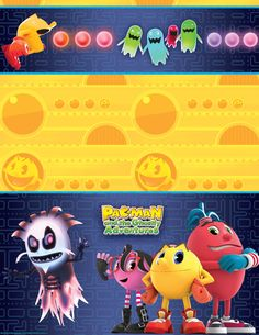 PAC-MAN and the Ghostly Adventures Plastic Tablecover, 88955