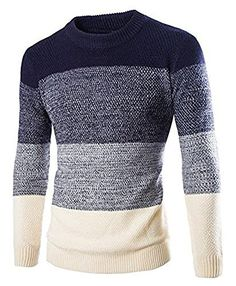 Zicac-Mens-Casual-Fashion-Pullover-Sweater-Assorted-Color-Knitwear