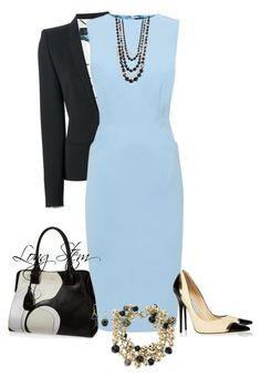 """""""08/23/15"""" by longstem ❤ liked on Polyvore featuring Mode, Barbara Bui, Jaeger, Chanel, Jimmy Choo, Tod's, StyleRocks und Carolee"""
