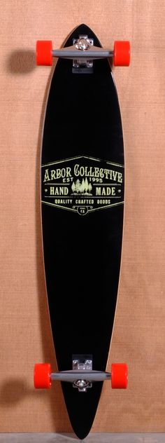 "Arbor 46"" Timeless Pin Longboard Complete - Reclaimed"