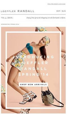 Shop New Arrivals For Spring at The Official Loeffler Randall Store Email Design Fashion Graphic Design, Graphic Design Layouts, Graphic Design Inspiration, Layout Design, Editorial Layout, Editorial Design, Editorial Fashion, E-mail Design, Print Design