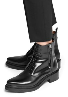 Fashion Tips Color Acne Studios - Linden black Shop Ready to Wear Accessories Shoes and Denim for Men and Women.Fashion Tips Color Acne Studios - Linden black Shop Ready to Wear Accessories Shoes and Denim for Men and Women Bootie Boots, Shoe Boots, Shoes Sandals, Ankle Boots, Shoe Bag, Heels, Pointy Boots, Black Booties, Crazy Shoes