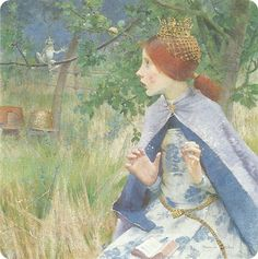 THE FROG PRINCE BY MARIANNE STOKES