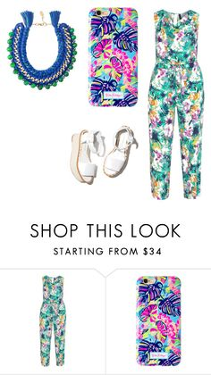 """""""color"""" by dumy-stela ❤ liked on Polyvore featuring Manon Baptiste, Lilly Pulitzer, Paloma Barceló and Ricardo Rodriguez"""
