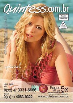 Quintess4220  Revista de moda feminina onde a mulher fica sempre na moda. Com as melhores novidades baseadas nas tendências da Europa.