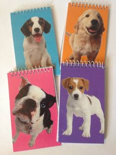 Amazon.com: Cute Puppy Dog Themed Small Spiral Notebooks for Kids Parties & Favors: Toys & Games