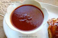 Mrs. Criddle's Kitchen- a sweet southern spicy but not hot BBQ Sauce without all that sugar.