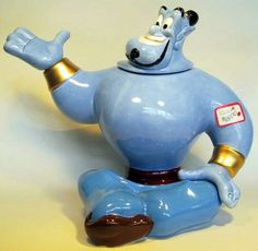 Genie Musical Teapot - If you rub this, does Robin Williams pop out?  :)