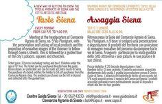 """A partire dal mese di Aprile tutti i lunedì, il Centro Guide Siena in collaborazione con il Consorzio Agrario di Siena, presenta """"Assaggia Siena"""" #siena #igers #igersiena #ig_toscana #igerssiena #instasiena #instasiena #igers_siena #igersitalia #instaitalia #igerstoscana #instatoscana #igfriends_toscana #prodottitipicitoscani #assaggiasiena #aroundsiena #discoveritaly #discovertuscany #pasta #pecorino #food #consorzioagrario #consorzioagrariosiena #cookery"""