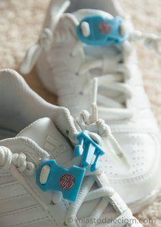 Nauka wiązania butów