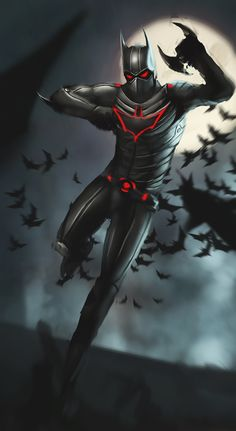 Batman Beyond by DismalFreak.deviantart.com on @deviantART