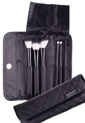 Lets Makeup Set 6PC The Phuse™ Let's MakeUP brush set has you completely covered. Brush the brows, eliminate that crease and add seduction to those eyes, this set has six fabulous brushes. Brush on beauty wherever you go the custom designed case is perfect for home or travel.