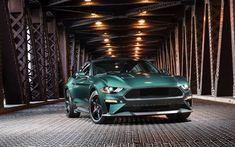2019 Ford Mustang Bullitt, front, 2019 car