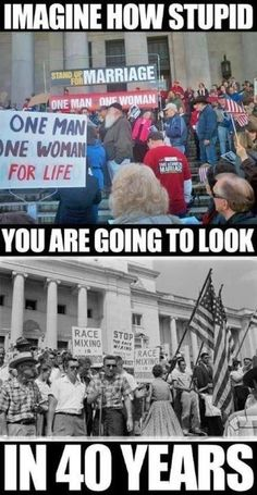 being on the right side of history